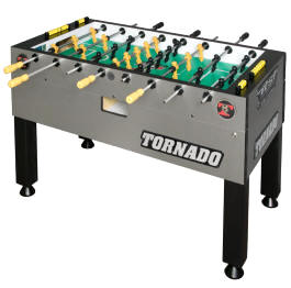 Tornado T3000 / Tournament T3000 Foosball Table TPYMSTP3 - Non Coin Home Model From Valley Dynamo