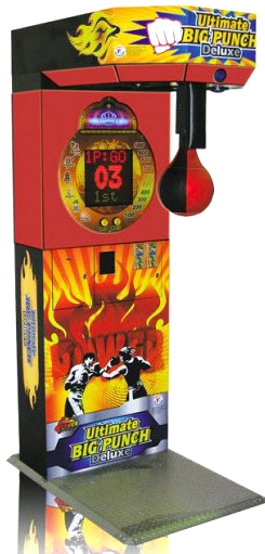 Ultimate Big Punch Deluxe Boxing Machine | From Smart Industries