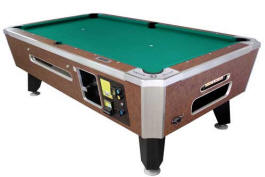 Panther Pool Table - Coin Operated From Valley Dynamo