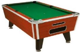 Valley Panther Pool Table - Non Coin Home Model From Valley Dynamo