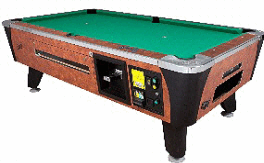Sedona Plus Pool Table - DBA / Coin Operated From Valley Dynamo