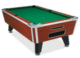 Tiger Pool Table - Non Coin Model From Valley Dyanmo