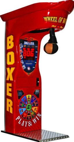 Wheel of Boxing - Boxer Prize Vending Machine From Kalkomat / IGPM