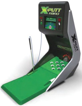 X-Putt Nano Golf Putting Machine / Ticket Redemption Arcade Game