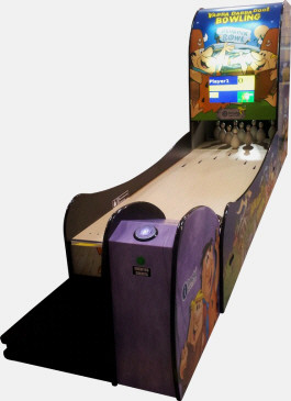 Yabba Dabba Doo Mini Bowling Alley From Imply