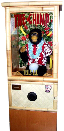 The Chimp Fortune Teller Macihine