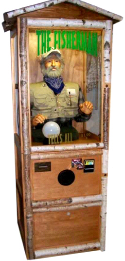 The Fisherman Fortune Teller Machine