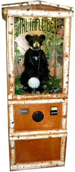 Truthful Bear Fortune Teller Machine