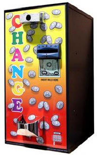 vending machine coin changers