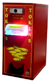 AC250-CRR Token Dispenser For Card Readers | American Changer Corporation