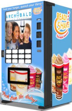 Archbald Frozen Dessert / Milkshake Robotic Vending Machine From FastCorp