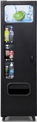 BC6-SAT / BC6 Satellite Cold Drink Vending Machine By Federal Machine / Perfect Break Systems