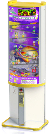 Beat The Monsters Gumball Redemption Vending Machine