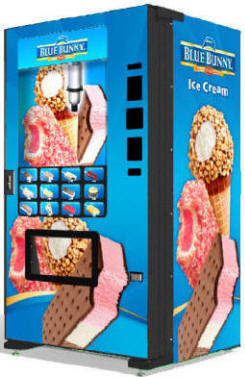 Blue Bunny Ice Cream Vending Machine From Fastcorp