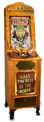 Bill Grip Strength Tester -  Rodeo Vending Machine From Impulse Industries