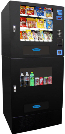 CBC716 / VC730 Break Center Refrigerated Cold Drink and Snack Vending Machine From Seaga