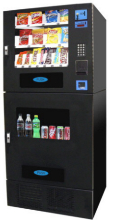 CBC716 / VC730 Refrigerated Cold Drink and Snack Vending Machine From Seaga