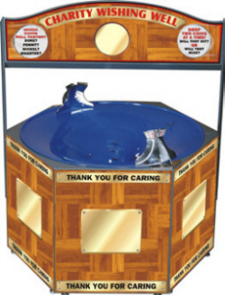 Charity Wishing Well - Coin Funnel Machine From Impulse Industries