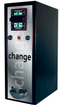 CM1050 Bill Changer Vending Machine From Seaga Manufacturing