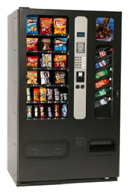 Combo II / 2 Combination Snack / Drink Vending Machine By Perfect Break Systems / PBS / U Select It / USI