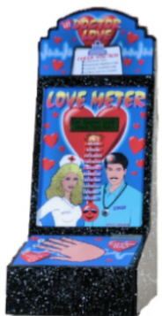 Dr. Love Meter - Doctor Love Tester - Metal Vending Machine From Impulse Industries