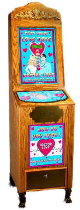 Dr. Love Meter / Doctor Love Tester Vending Machine From Impulse Industries