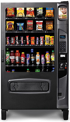 DZ5W Chill Center Vending Machine By Federal Machine / Perfect Break Systems