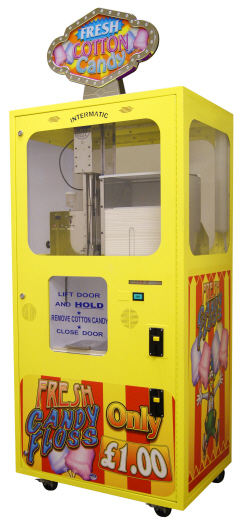 Sega Cotton Candy Floss Vending Machine - Candy Floss Vending Machine From Intermatic and Sega