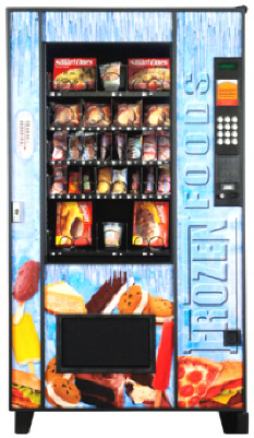 Frozen Food Vending Machine From AMS
