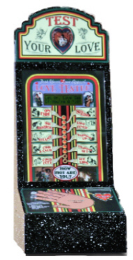 Love Tester Metal Novelty Vending Machine From Impulse Industries