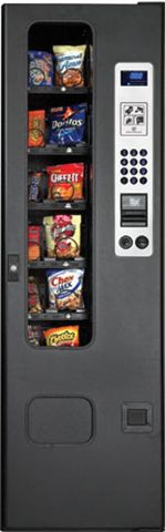 GF12 / GF-12 Snack Vending Machine By Perfect Break Systems / PBS / U Select It / USI