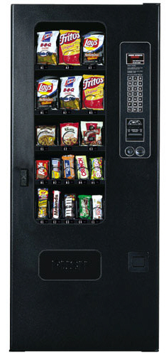 GF19 / GF-19 Snack Vending Machine By Perfect Break Systems / PBS / U Select It / USI