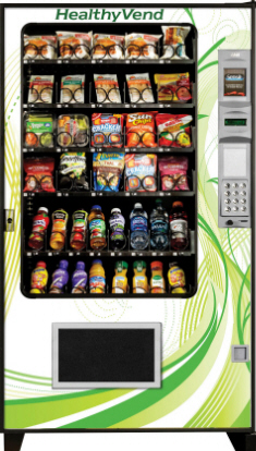 Healthyvend healthy food fresh food vending machine from automated