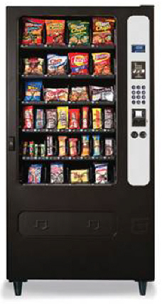 HR32 / HR-32 Snack Vending Machine By Perfect Break Systems / PBS / U Select It / USI From BMI Gaming