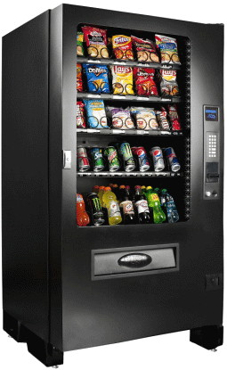 Infinity INF5C / VC5600 / SP436R RFB Combination Beverage Snack Vending Machine | Seaga