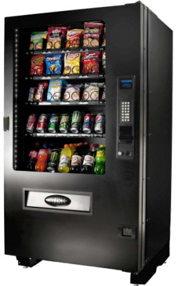 Infinity INF5CX Outdoor Weatherproof  RFB Combination Beverage Snack Vending Machine | Seaga