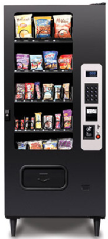 MP23 / MP-23 Snack Vending Machine By Federal Machine / Perfect Break Systems