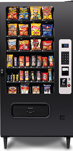 MP32 / MP-32 Snack Vending Machine By Federal Machine / Perfect Break Systems