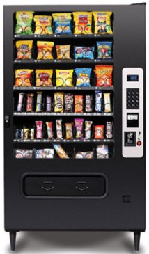 MP40 / MP-40 Snack Vending Machine By Federal Machine / Perfect Break Systems