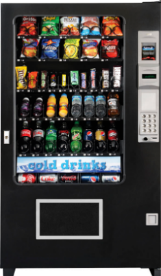 AMS Multitasker Vending Machine From Automated Merchandisers