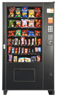 Sensit Snack Vending Machine From AMS