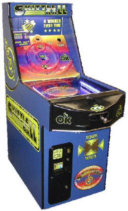 Skittle Ball Arcade Ticket Redemption Game From OK Manufacturing