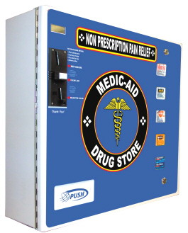 SL5000 Medic-Aid / Drugstore & Personal Hygiene Vending Machine From Seaga