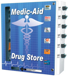SL6000 Medic-Aid / Drugstore & Personal Hygiene Vending Machine From Seaga