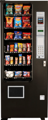 AMS Slim Gem Snack / Candy Vending Machine From Automated Merchandisers
