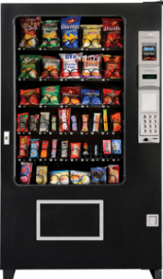 AMS Snack Machine From Automated Merchandisers