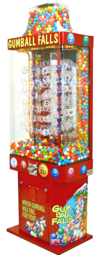 Gumball Falls / Sportsball Gumball Machine From OK Manufacturing
