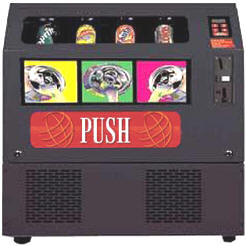 SS3000 Soda Machine / Drink / Cold Beverage Vending Machine From Seaga / Vendtronics