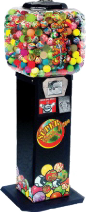 Super Bounce A Roo Bulk Vending Machine From OK Manufacturing