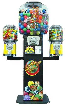 Super Bounce A Roo Gumball Machine with Wings From OK Manufacturing